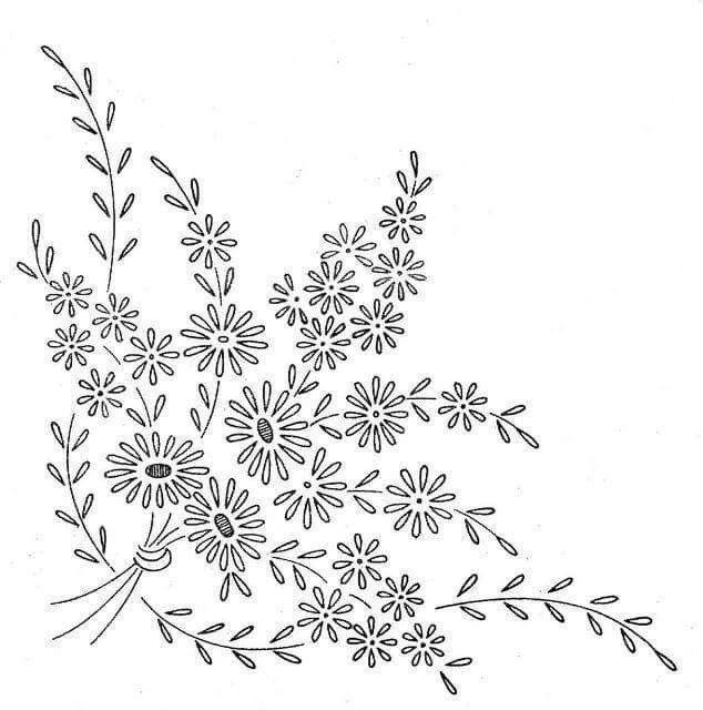 Pin by Rashmi Khanna on Hand embroidery | Pinterest | Bordado ...