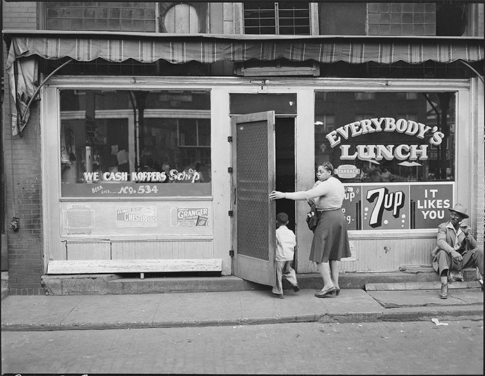 Image result for 1940s diner public domain