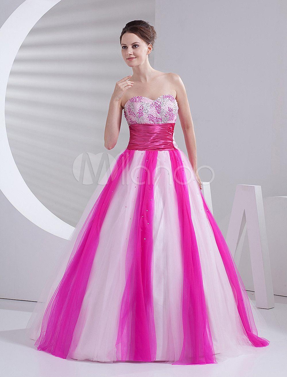 Pink Princess Prom Dress - Ocodea.com
