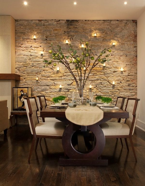 Transform your interior walls with rock Home Pinterest