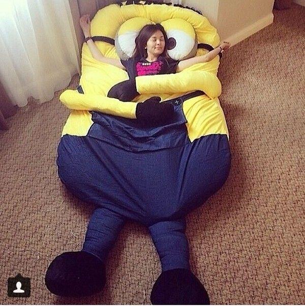 Super Despicable Me Huge Minion Bean Bag Bed Dyi In 2019 Bean Inzonedesignstudio Interior Chair Design Inzonedesignstudiocom