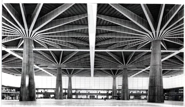 Palazzo del Lavoro, Pier Luigi Nervi, Turin, 1959-61