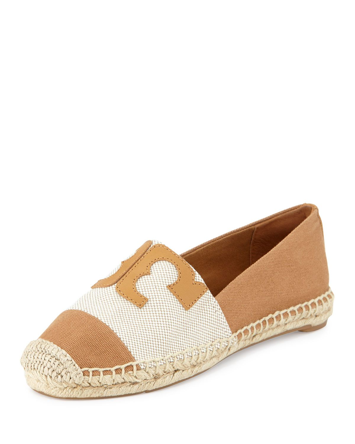 Tory Burch Woman Embroidered Lace-up Canvas Espadrilles Red Size 7.5 Tory Burch Buy Cheap Browse Discount Inexpensive NzJOMvjwV