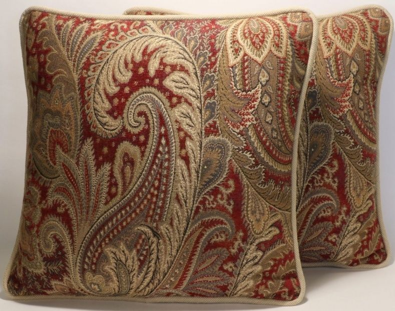 Paisley Sofa Pillows