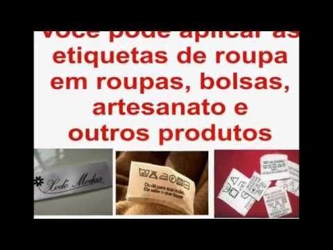 Etiquetas de roupa Personalizadas Rio de Janeiro