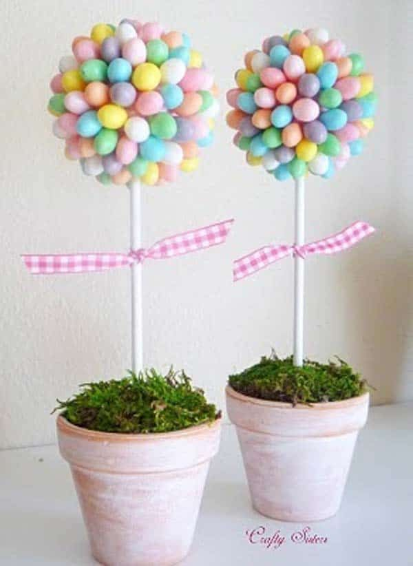 38 Easy DIY Easter Crafts to Brighten Your Home #easydiy