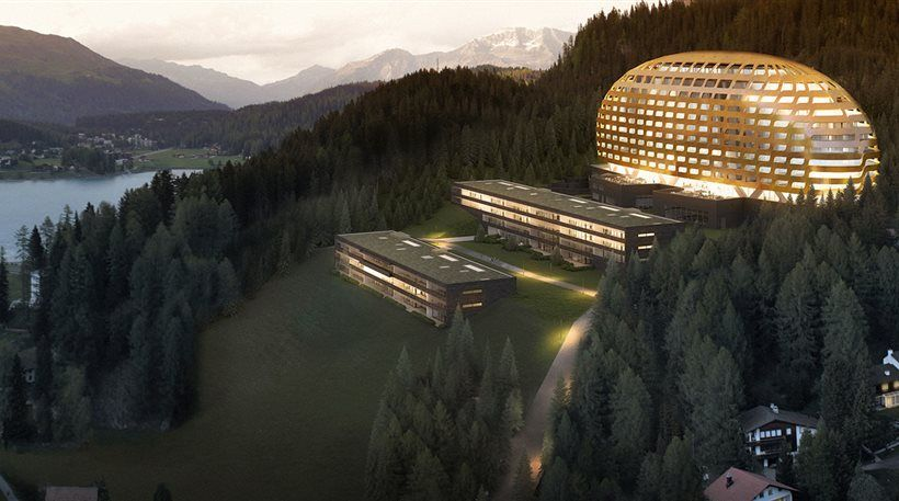Intercontinenal Hotel, Davos, Switzerland
