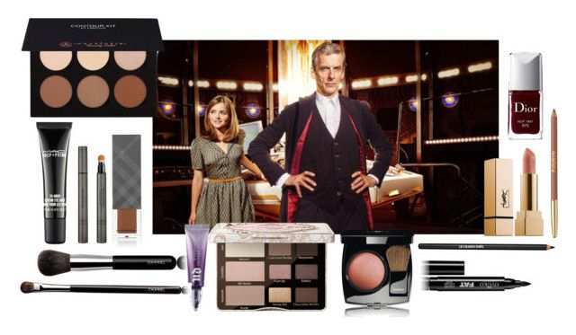 """(Halloween Makeup) Twelfth Doctor – Doctor Who."" by foreverforbiddenromancefashion ❤ liked on Polyvore featuring beauty, Burberry, MAC Cosmetics, Anastasia Beverly Hills, Chanel, Urban Decay, Too Faced Cosmetics, Eyeko, Lancôme and Sisley"