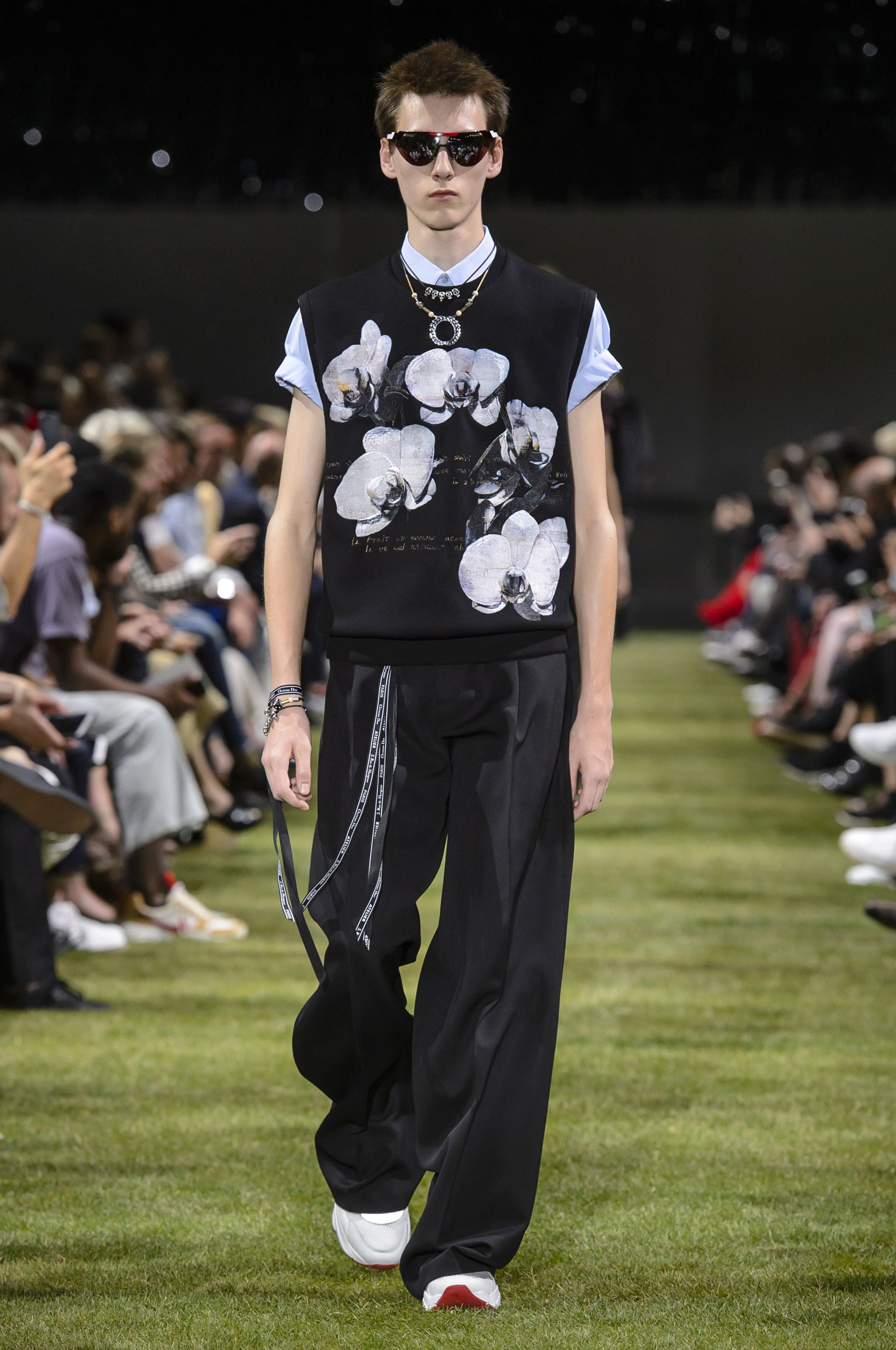 Fashion style Homme dior spring runway for lady