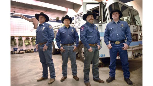 Fort Worth Firefighters Respond To Emergencies At Fort Worth Stock Show And Rodeo Fort Worth Stock Show Firefighter Fort Worth