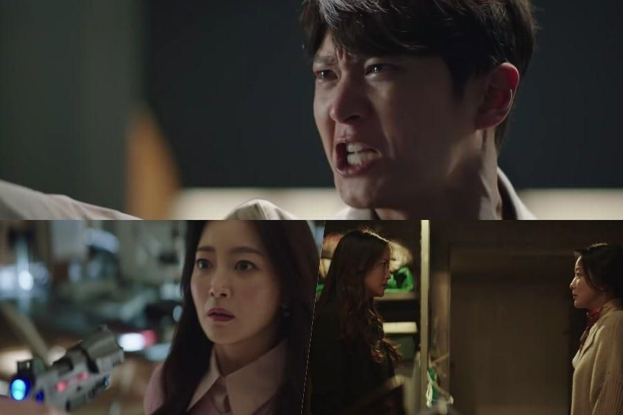"""Watch: Joo Won And Kim Hee Sun Fight Against Mysterious Time Travelers In """"Alice"""" Teaser"""