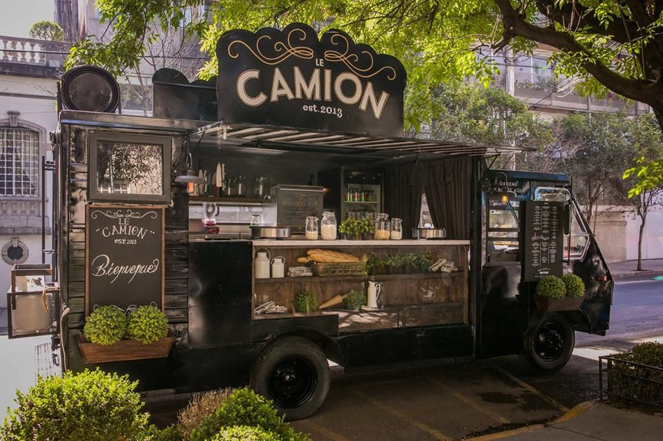 foodtrucks Le Camion Food truck, Coffee food truck and