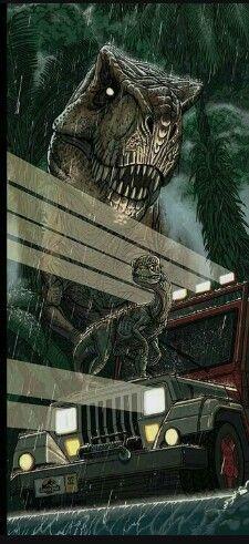 Jurassic Park art. #jurassicparkworld