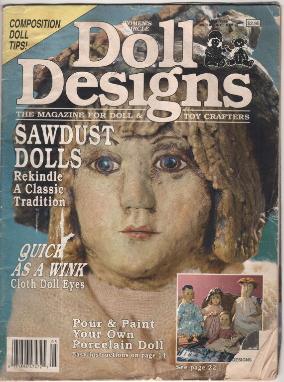 Women's Circle Doll Design  May 1989 Issue by Fabpatterns1015