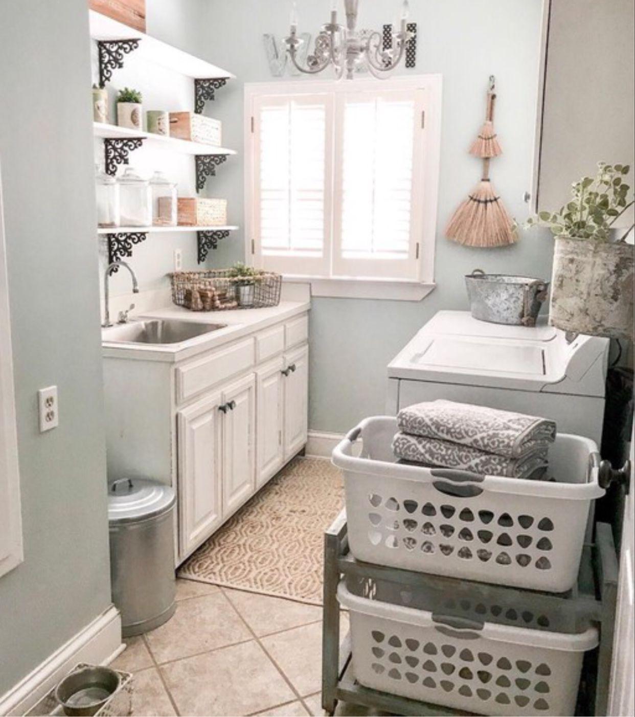 Idea By Angie Mullins On Farmhouse Laundry Room Laundry Room