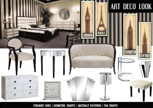 Art Deco Bedroom Design Ideas Boardscreen1920Sinteriordesign 490×347 Pixels  For Our