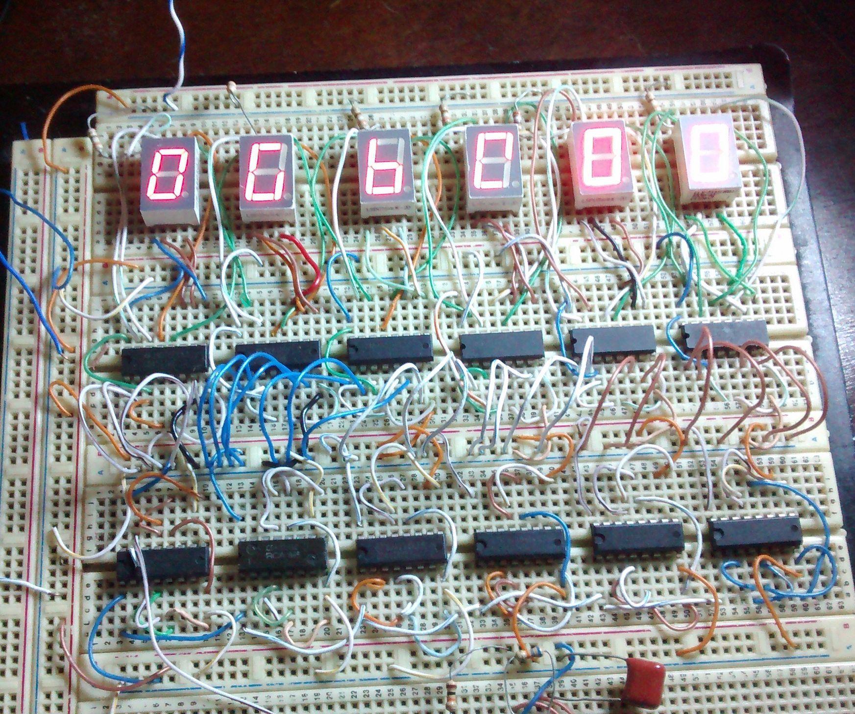 HOW TO DO a DIGITAL CLOCK Digital clocks, Electronics