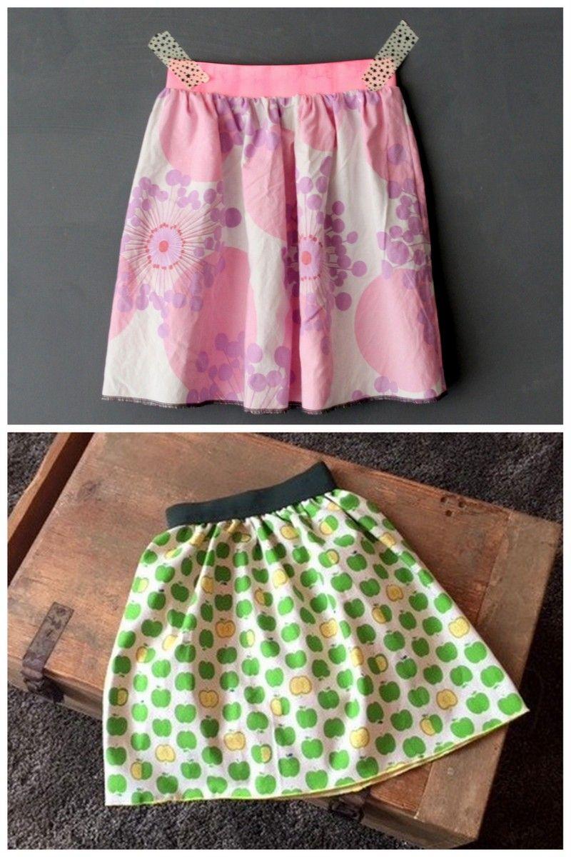 Röcke nähen ohne Schnittmuster ::: DIY Anleitung ausprobiert ...