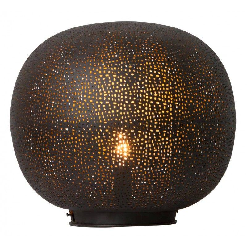 Tabriz+Bordlampe+H31cm+Ø34cm+25W,+Svart,+Watt+&+Veke Royal design