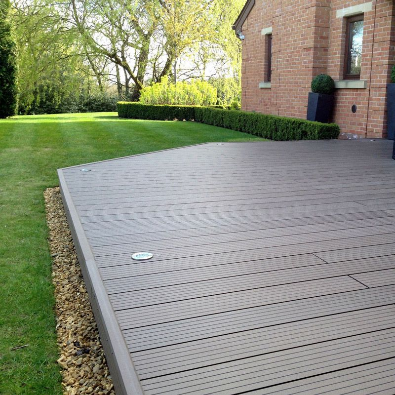 WPC decking is now one of the most popular outdoor