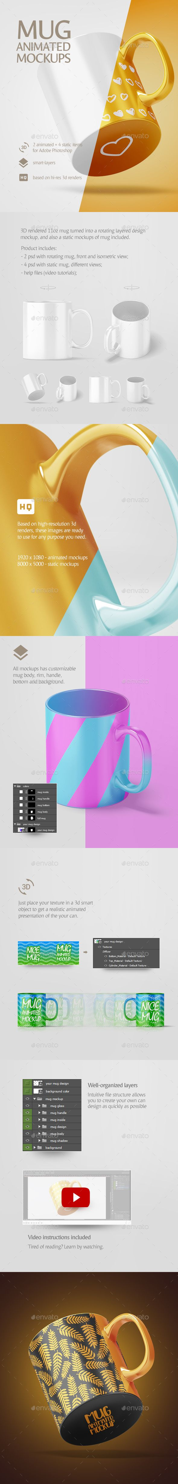 Print Mockup - Mug Animated Mockup - Print Mockup by rebrandy.   #BlackFriday #TuesdayWisdom #PresentationTemplate#TuesdayFeeling #TuesdayThoughts #DesignTemplate #TuesdayMotivation #UIUX #WebElements #HappyTuesday #Graphic #UserInterface #CyberMonday #Logo #Vectors