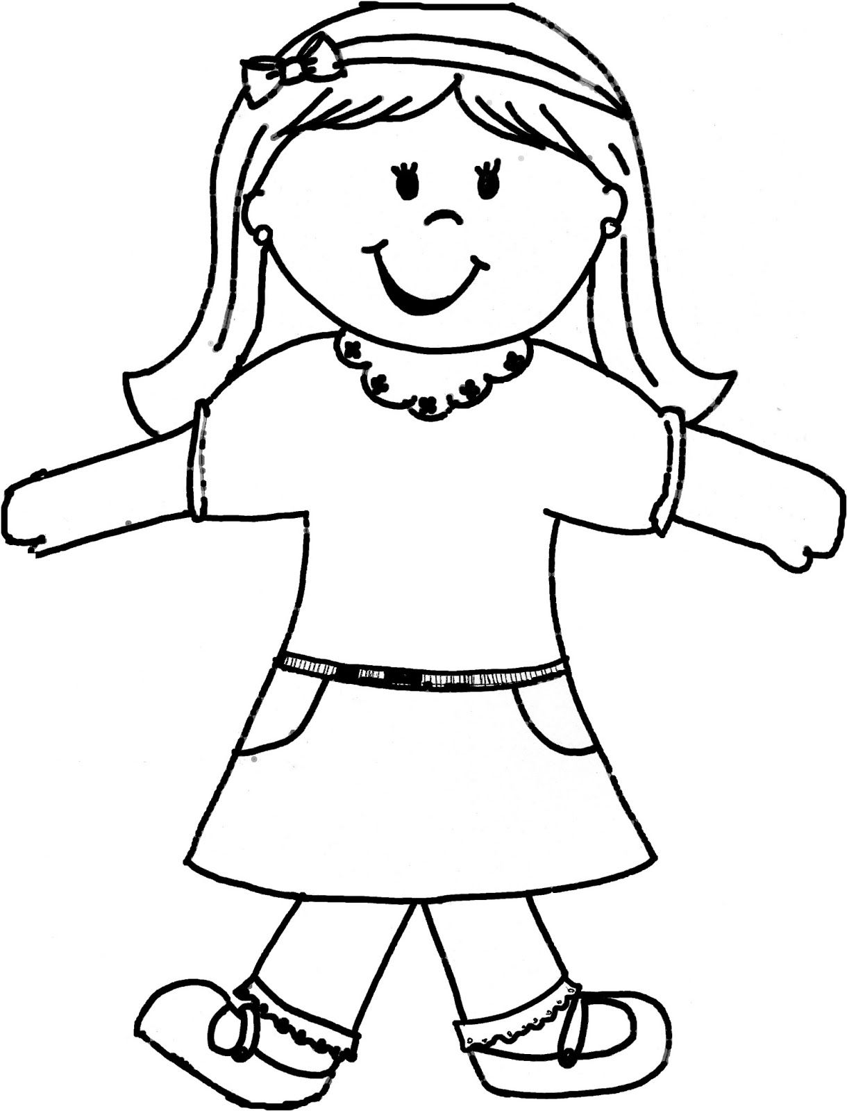 Flat Stacie For Girls Flat Stanley Flat Stanley Template Flat