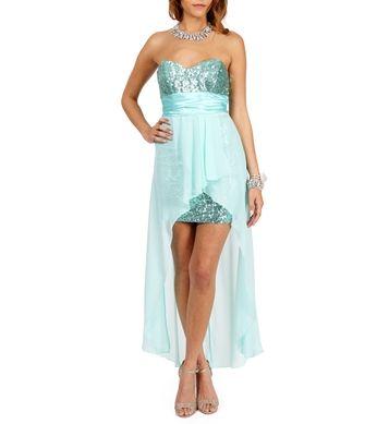 Tony-Mint Prom Dress