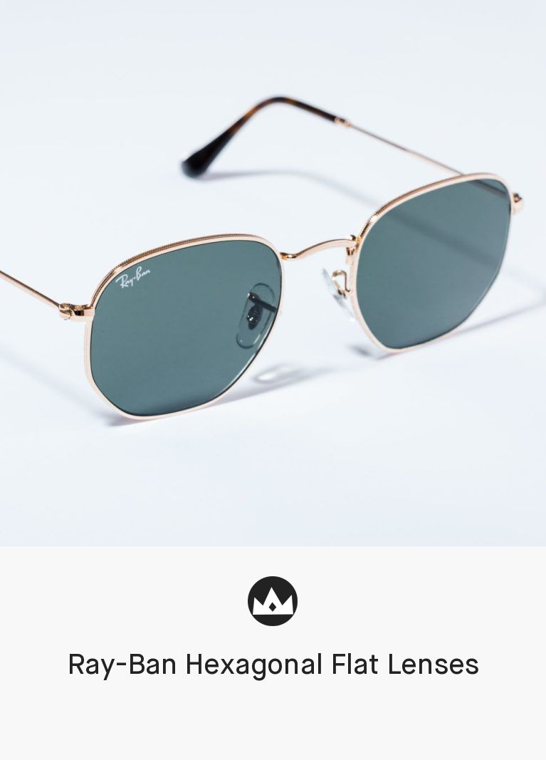 f52a79663187 Ray-Ban Hexagonal Flat Lenses  men  accessories  eyewear  sunglasses