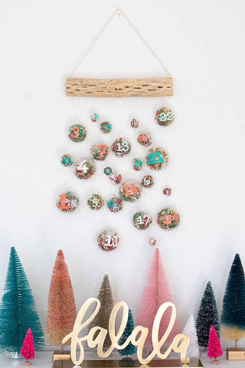 The Final Countdown Make A Hanging Ornament Advent Calendar Diy Advent Calendar Diy Christmas Ornaments Handmade Tree Ornaments
