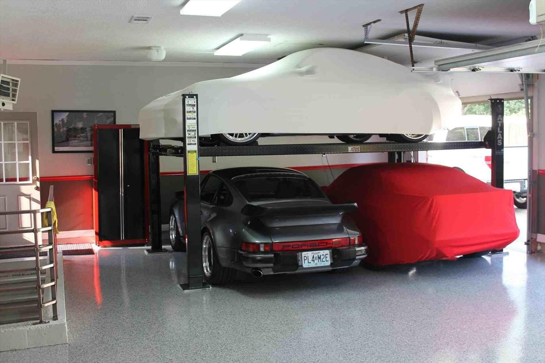 Super Cool And Modern Car Garage Design 16 In 2020 Garage Design