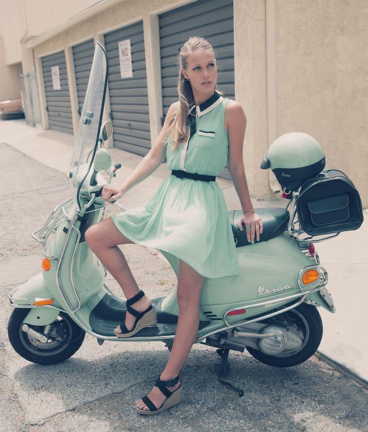 I want a Mint moped