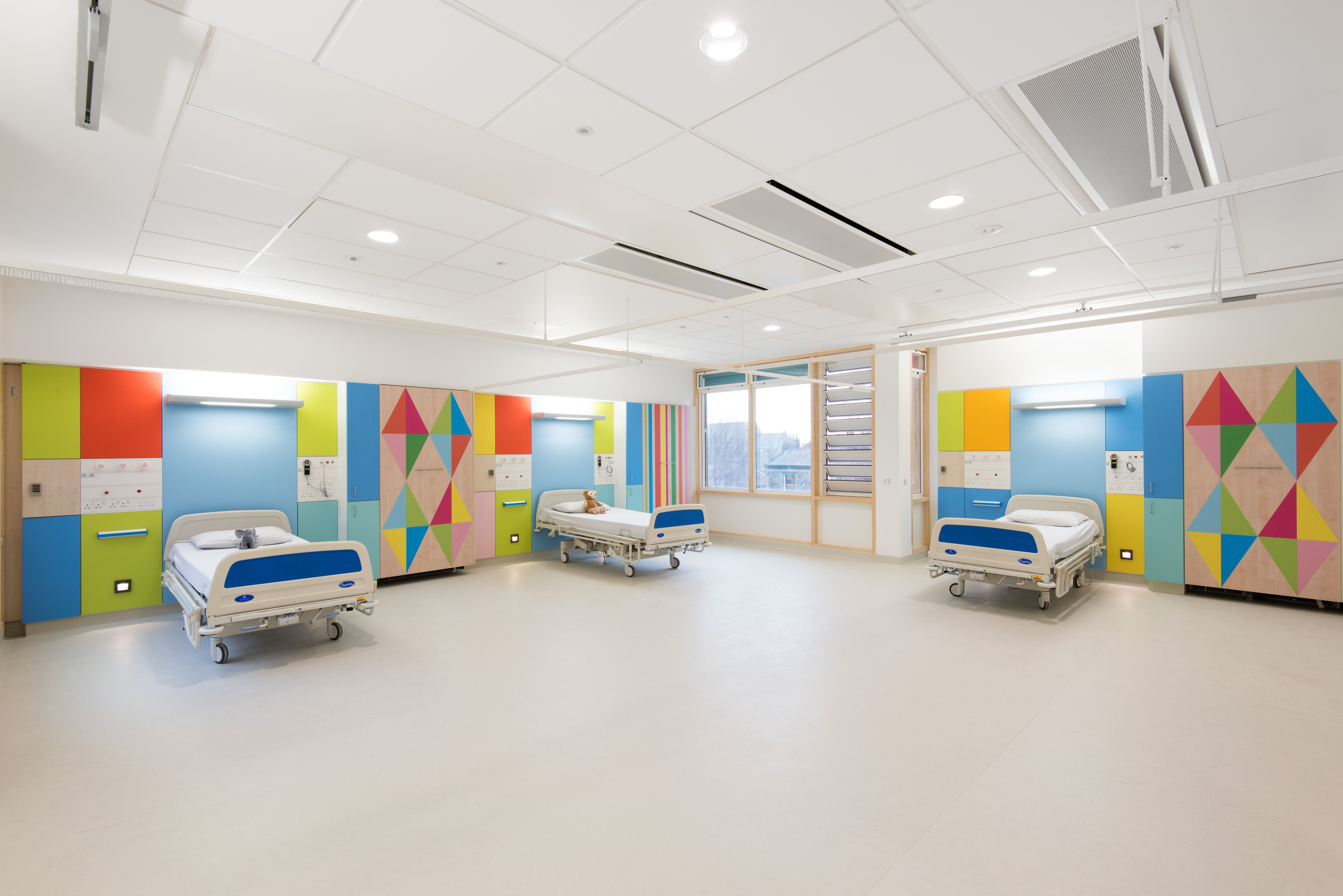 Morag Myerscough Artfelt Sheffield Childrens Hospital