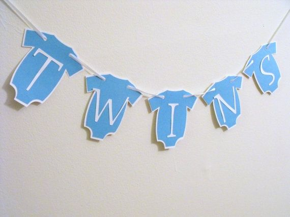 TWINS Banner, Maternity Photography Prop, Its Twins, Its a Boy, New