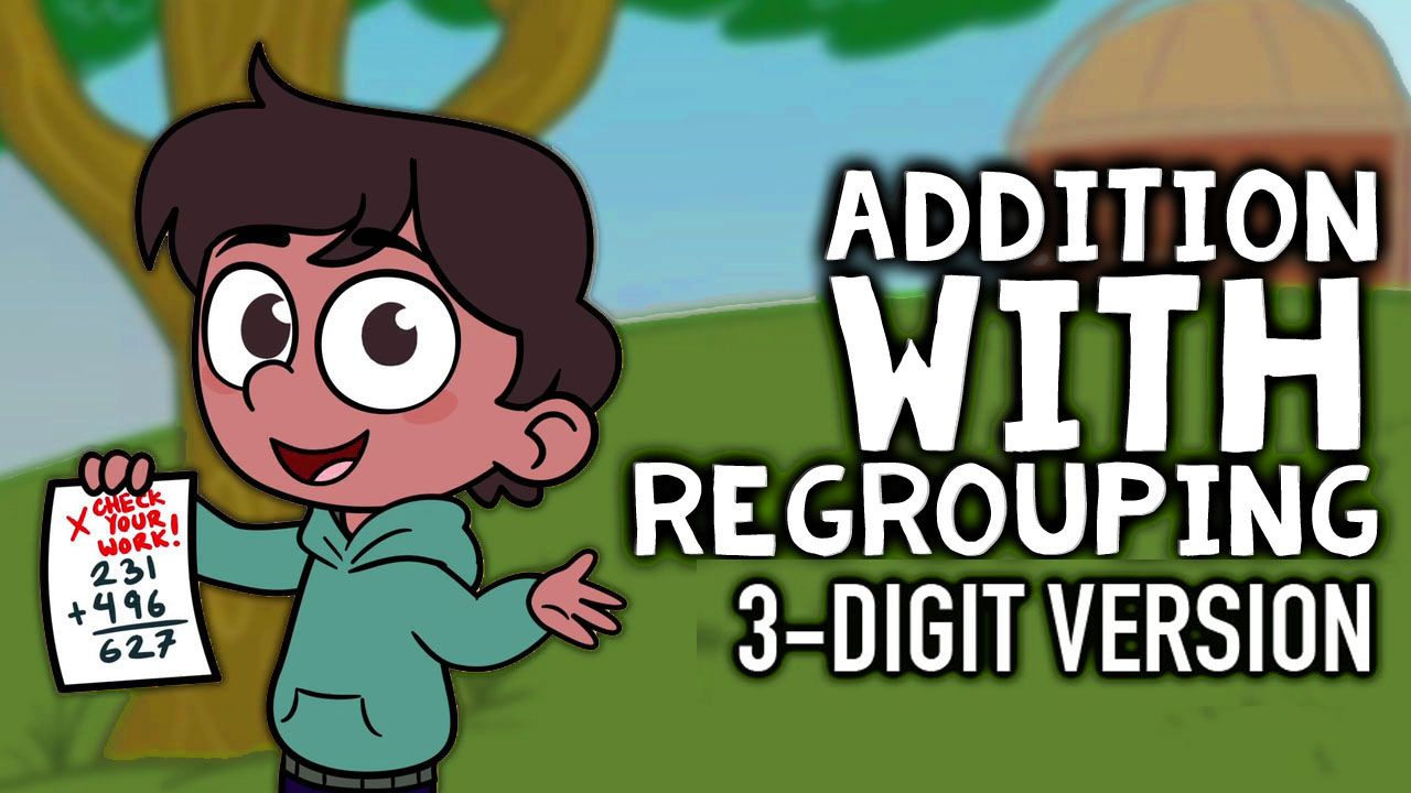 Addition with Regrouping Video | Math songs, Teaching ...