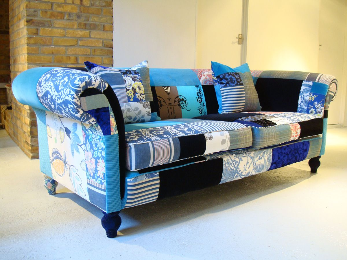 Modern Patchwork Patchwork Furniture Decor Patchwork Upholstery