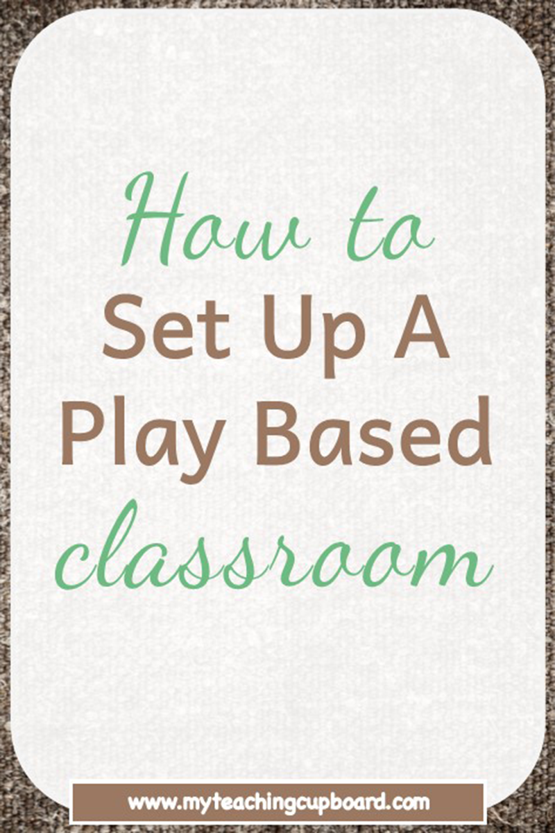 The 10 Essential Areas of A Play Based Classroom #preschoolclassroomsetup