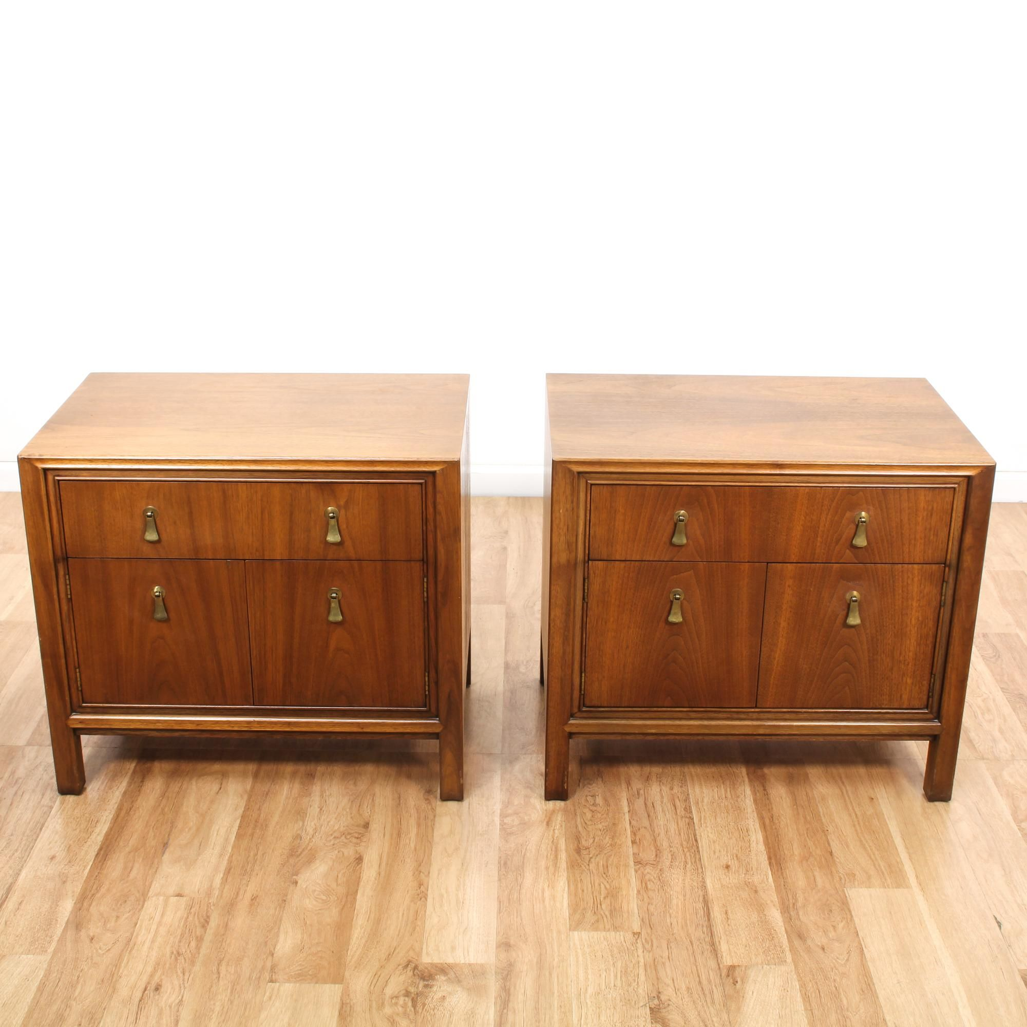 These Mount Airy Nightstands Are Featured In A Solid Wood With A