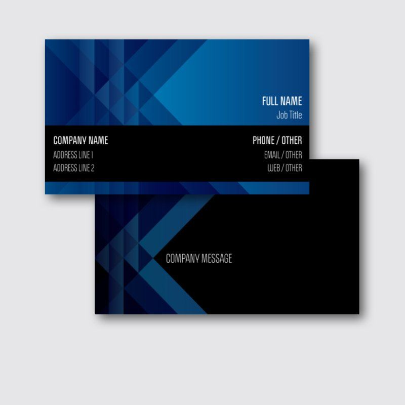 Personalized Business Cards Standard Matte Designs Marketing Communications Business Cards S Business Card Design Marketing Communications Company Names