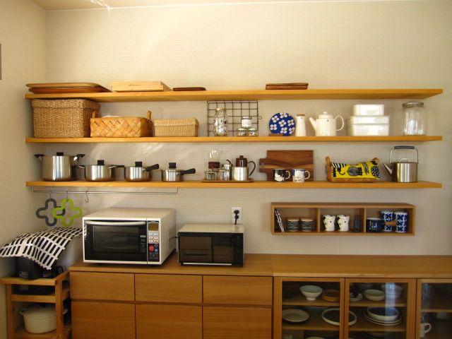 キッチンに無印の 壁に付けられる家具 Ducks Home 楽天ブログ 無印良品の家 インテリア 模様替え