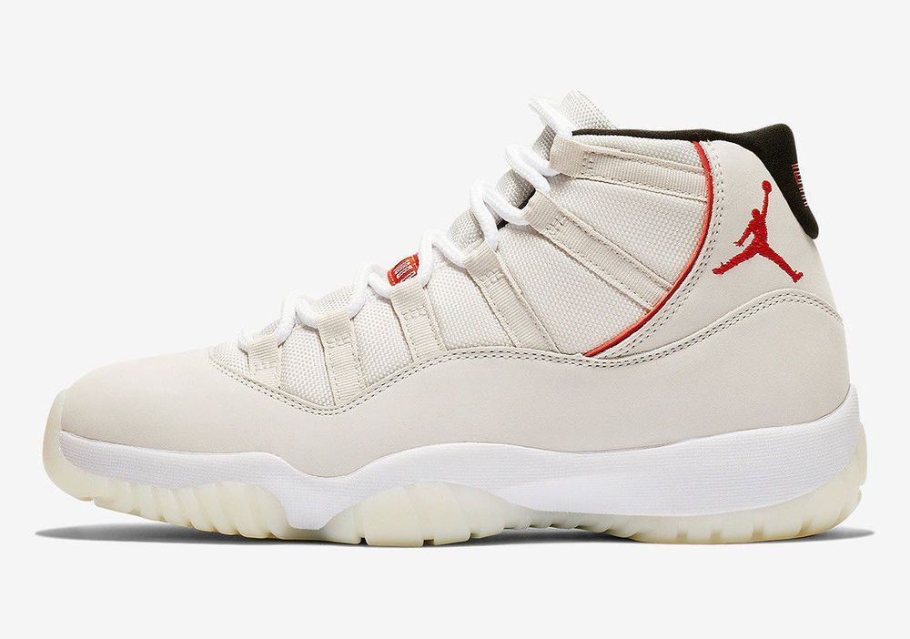 25d451859ebcc 2018 Nike Air Jordan XI Retro 11 Platinum Tint 378037-016 MEN SZ ...