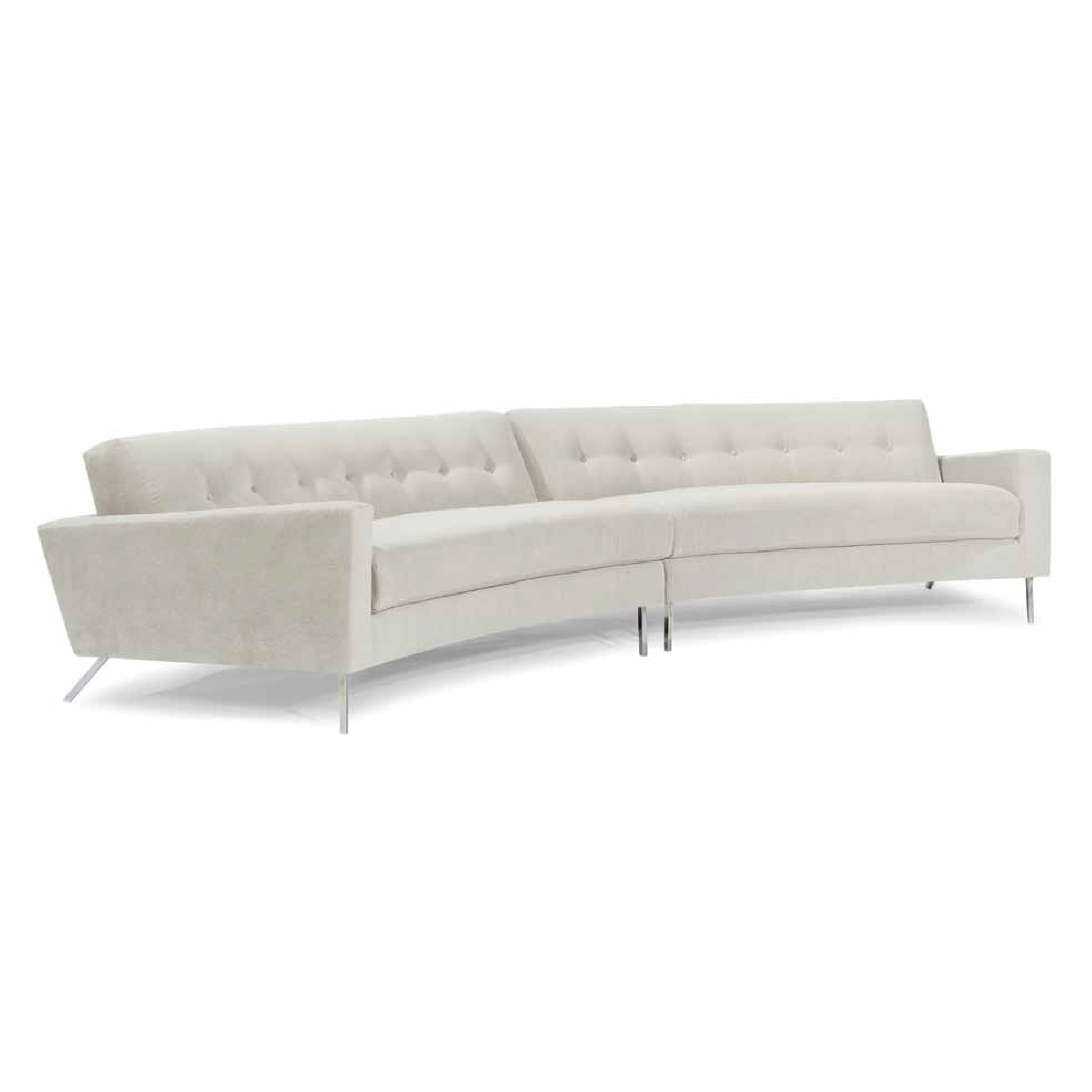 Flamingo Sectional - Lazar   Utah Sofas   Sofa, Curved sofa ...