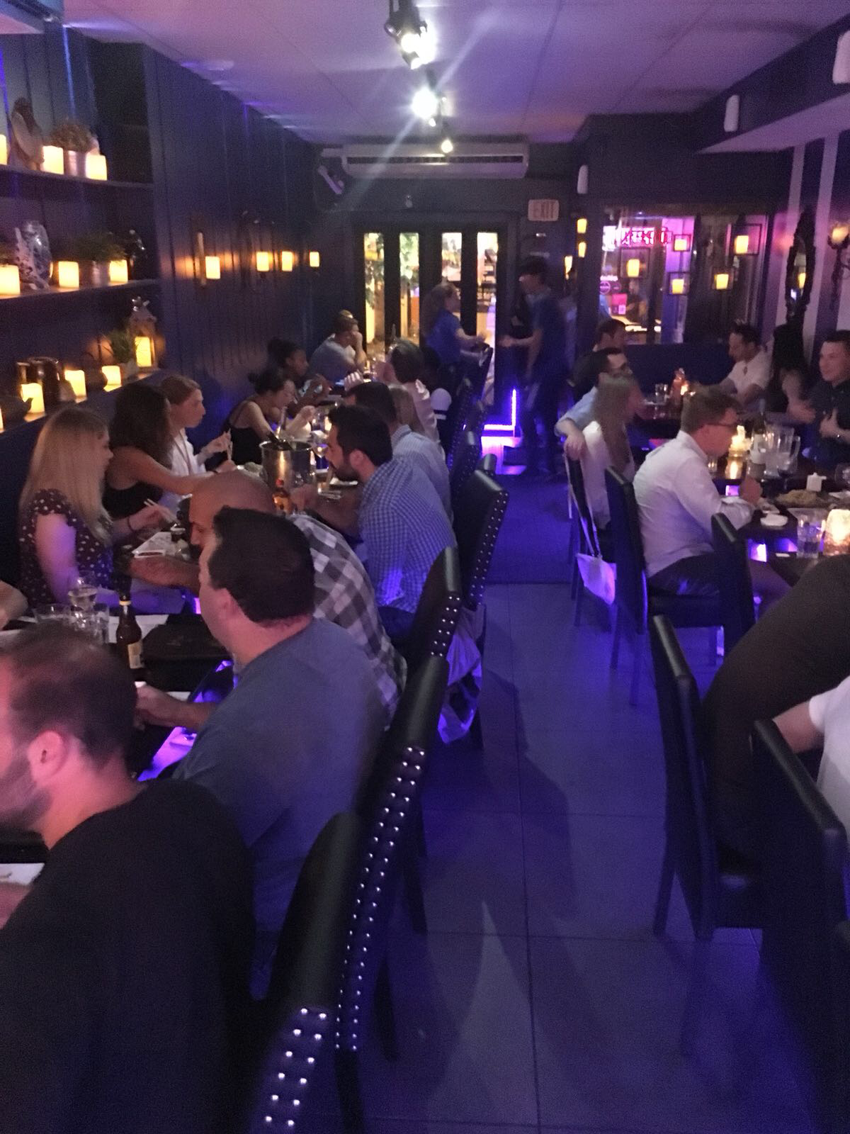 Typical Friday Night At Bleu Sushi Come For A Visit And