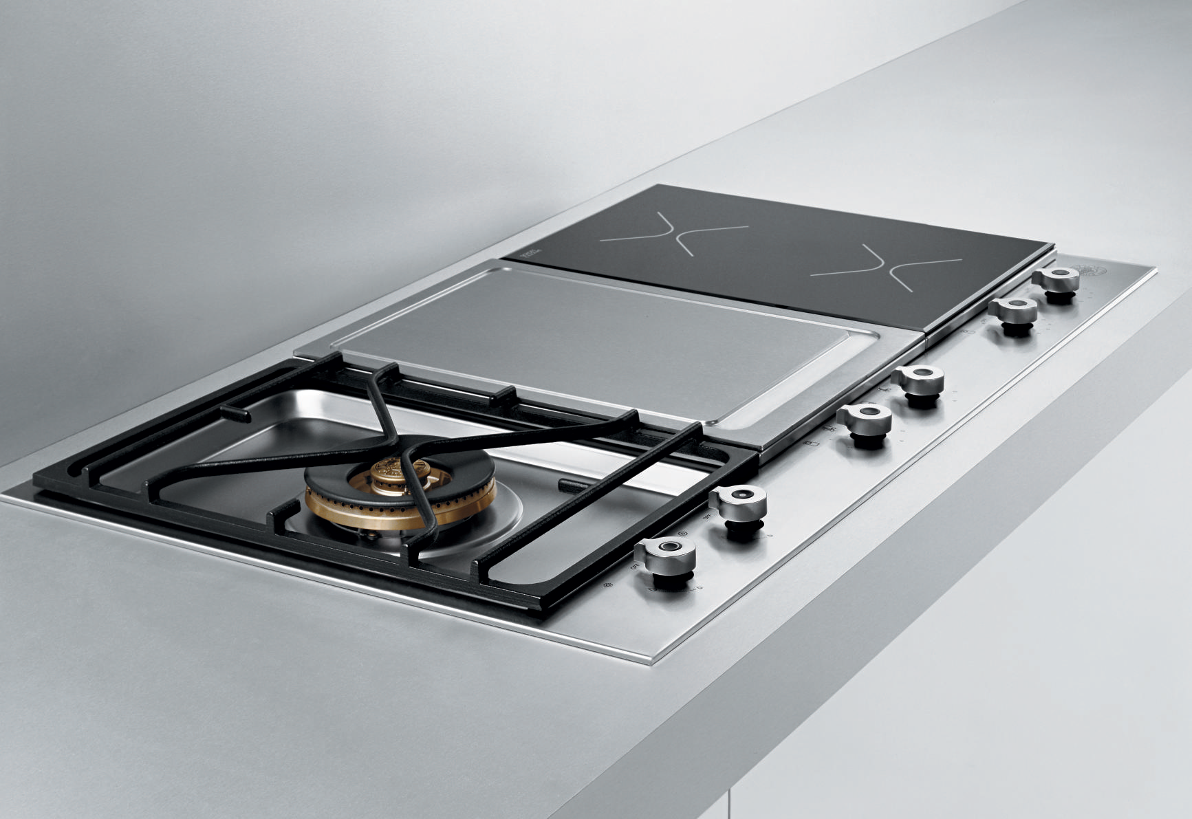 Combination Gas And Induction Cooktop Zef Jam