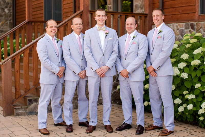 Preppy Wedding Seer Er Suits