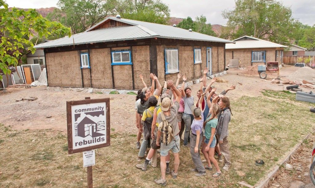 Nonprofit Teaches Communities How To Build Homes Out Of