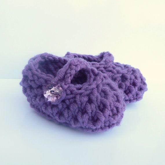 Baby Shoes Knitting Pattern - Baby Booties - Bonny Baby Mary Jane ...