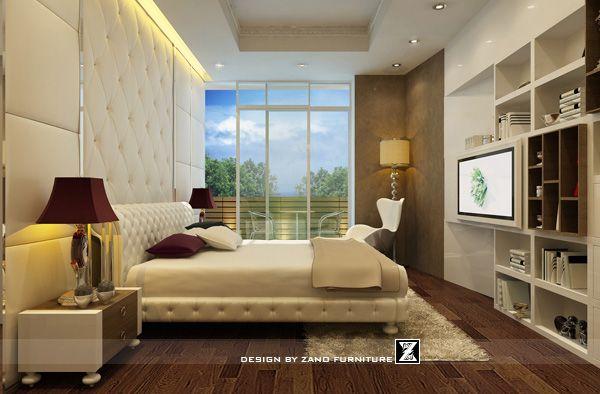 Thiết kế nội thất phòng ngủ 1 căn hộ 106S1 Sai Gon Pearl