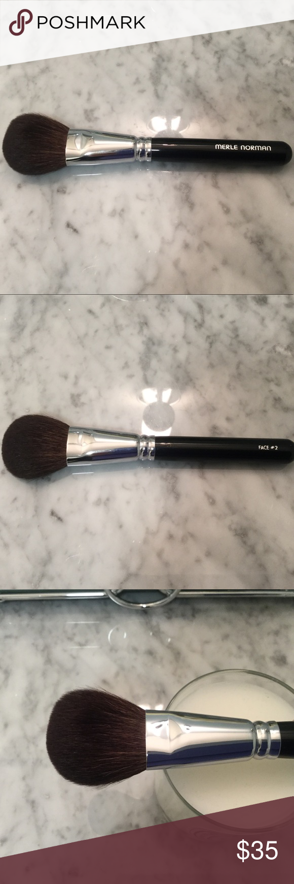 NWOB Merle Norman Powder Brush 2 Powder brush, Natural