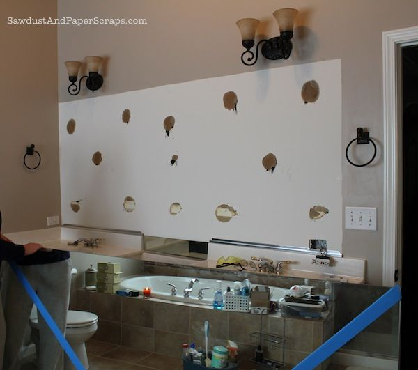 Bathroom Mirror Glued To Wall how to remove a builders mirror -- desperately needed info! my
