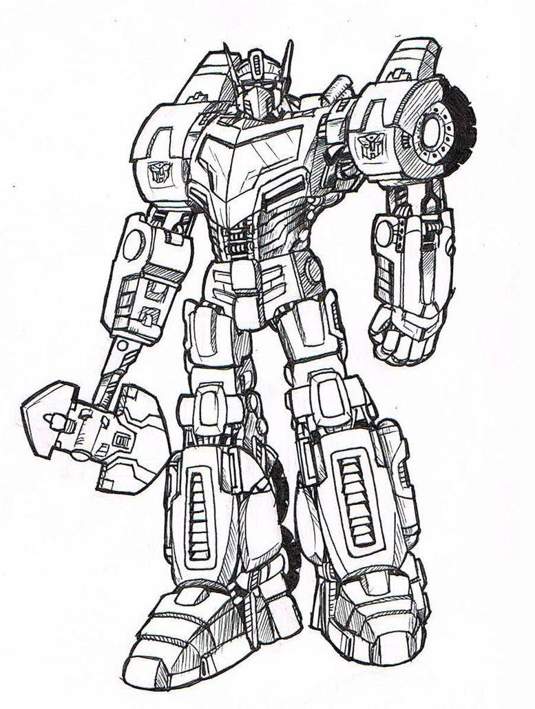 Cool Optimus Prime Coloring Pages Pictures Buku Mewarnai Gambar Warna